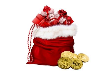 Krypto Weihnachten schenken
